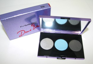 MAC Dame Edna Colletion - Trio Eyeshadow Wisteria